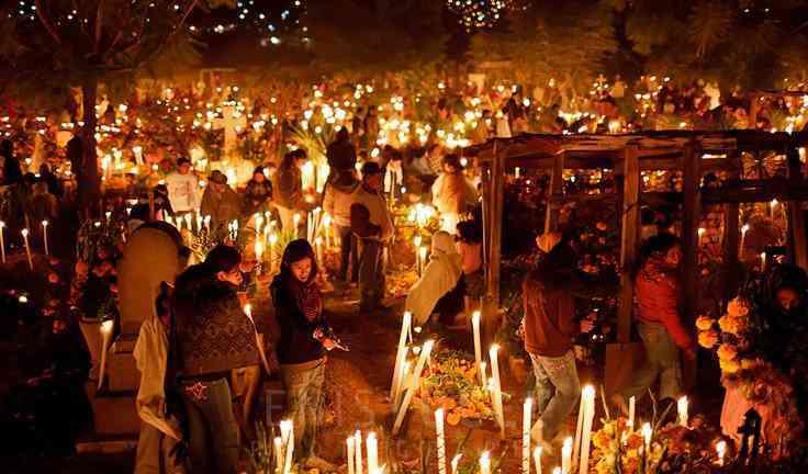 Día de muertos en Pátzcuaro